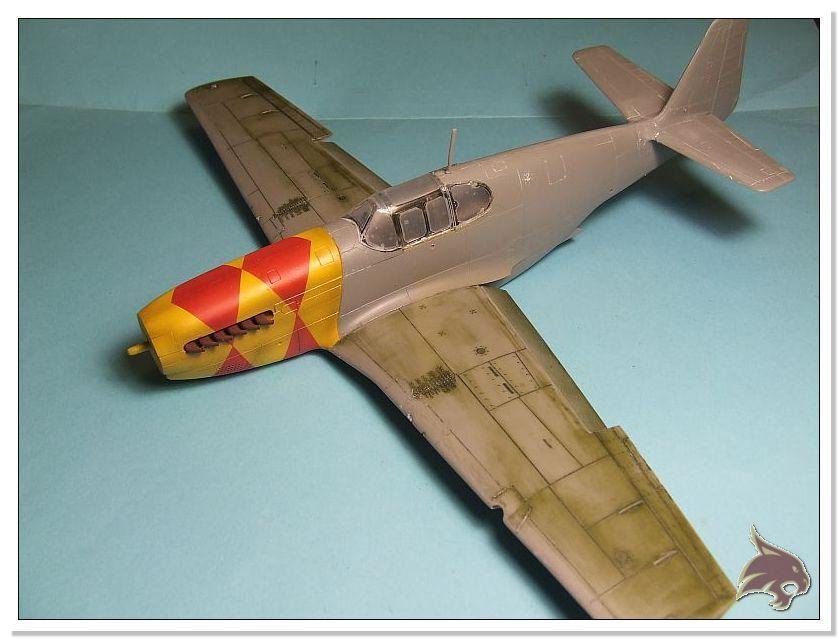 North American P-51 B - ICM 1/48 35