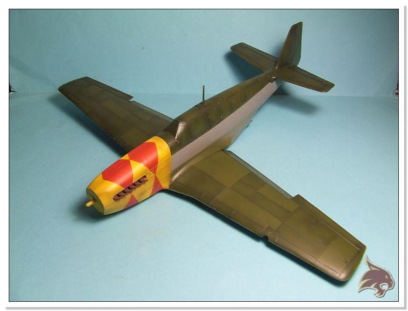 North American P-51 B - ICM 1/48 39