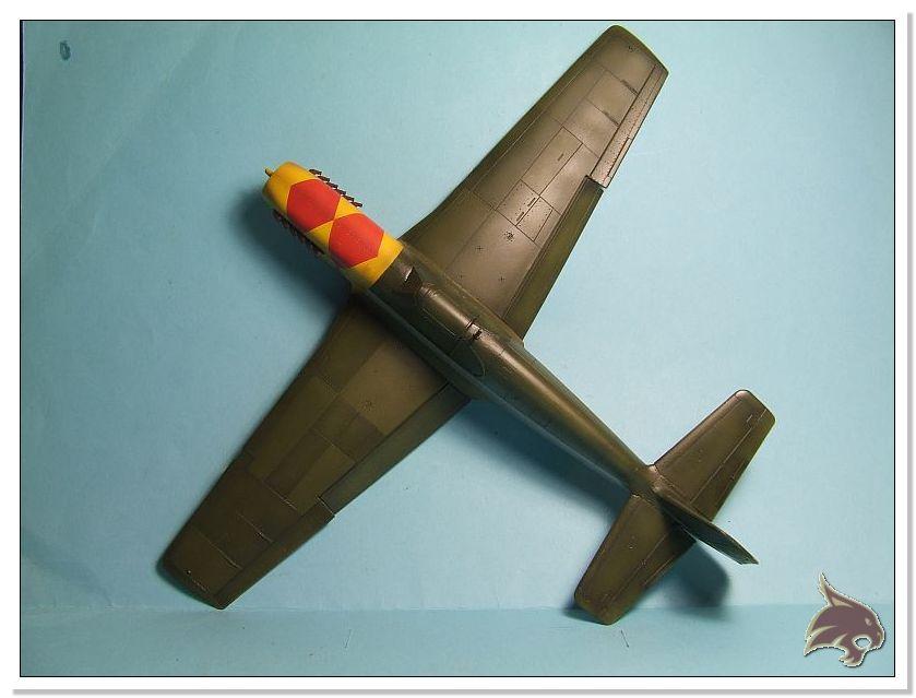 North American P-51 B - ICM 1/48 40