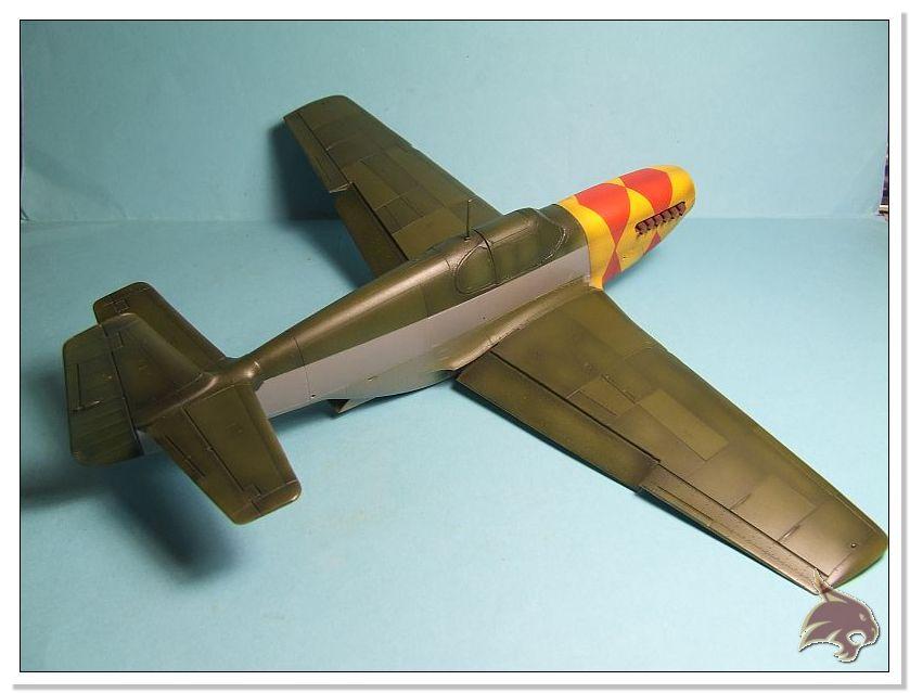 North American P-51 B - ICM 1/48 41