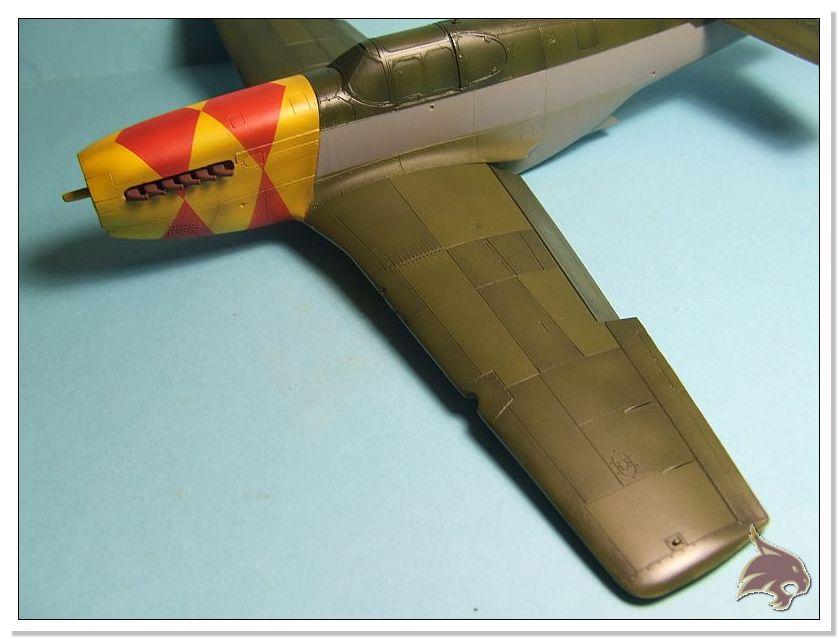 North American P-51 B - ICM 1/48 43