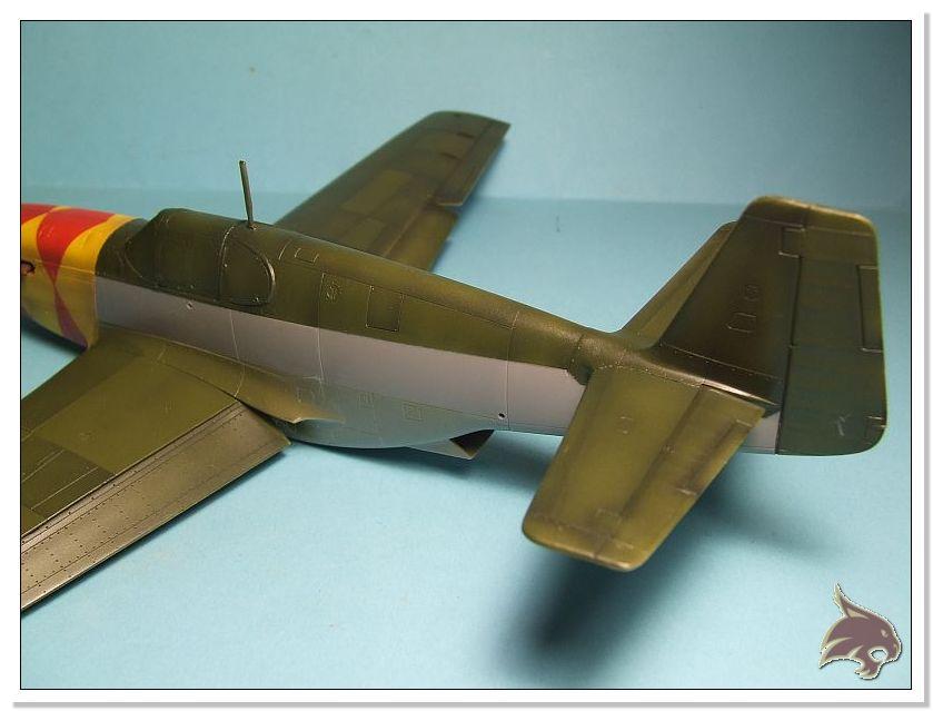 North American P-51 B - ICM 1/48 44