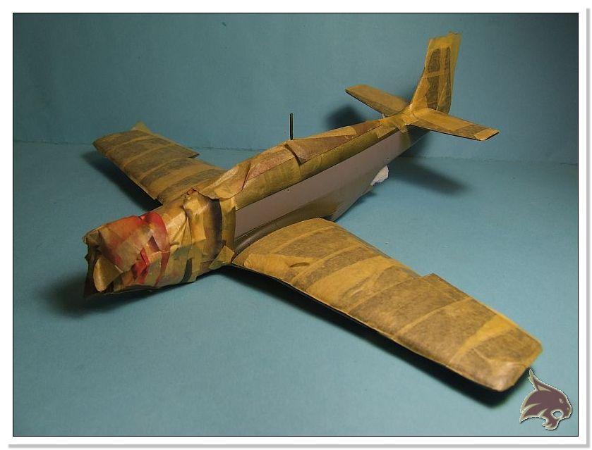 North American P-51 B - ICM 1/48 45
