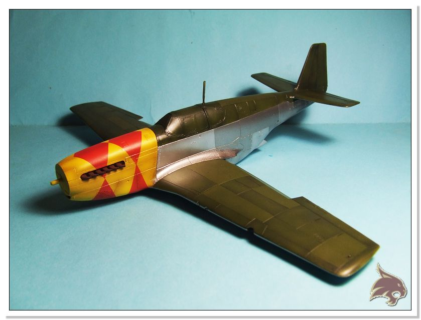 North American P-51 B - ICM 1/48 46