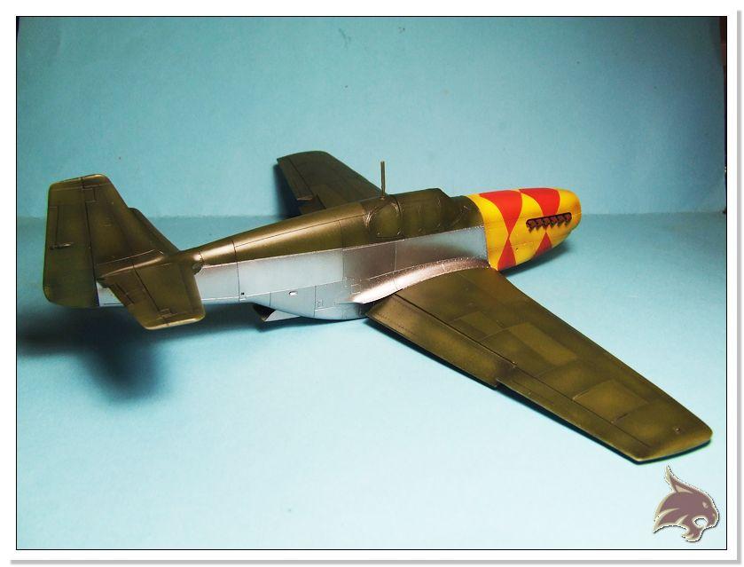 North American P-51 B - ICM 1/48 47