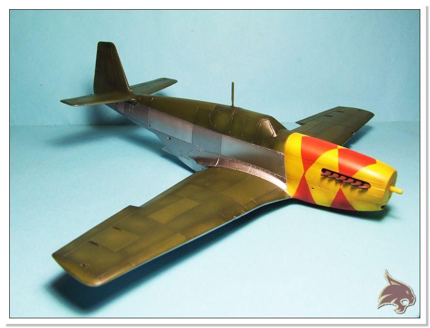 North American P-51 B - ICM 1/48 49
