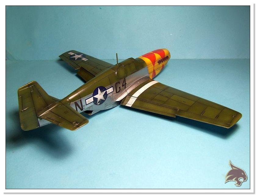 North American P-51 B - ICM 1/48 50