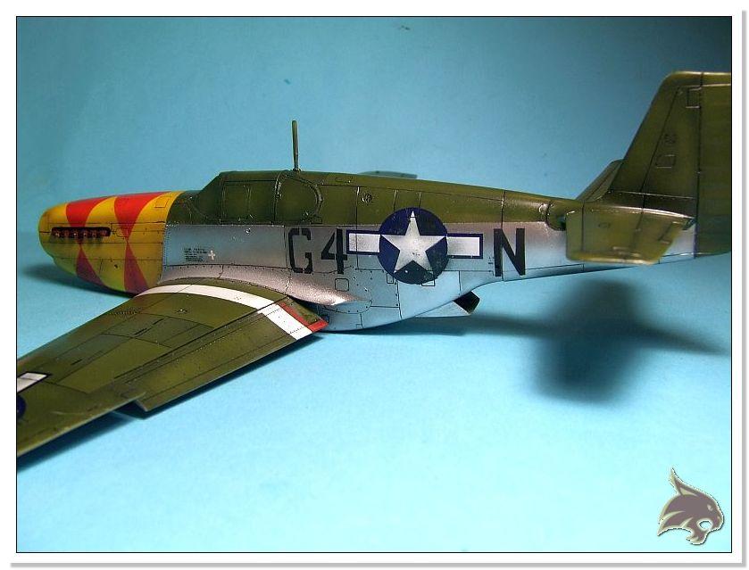 North American P-51 B - ICM 1/48 52