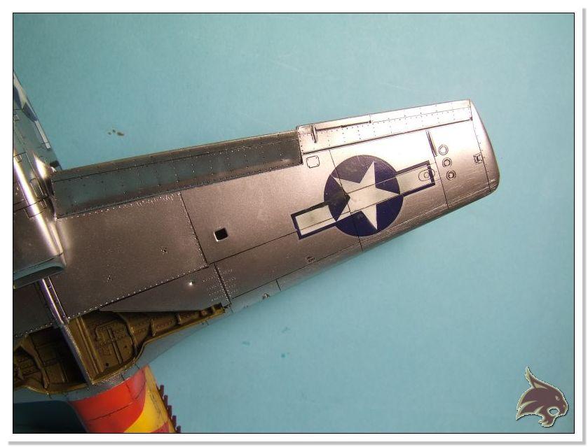 North American P-51 B - ICM 1/48 53