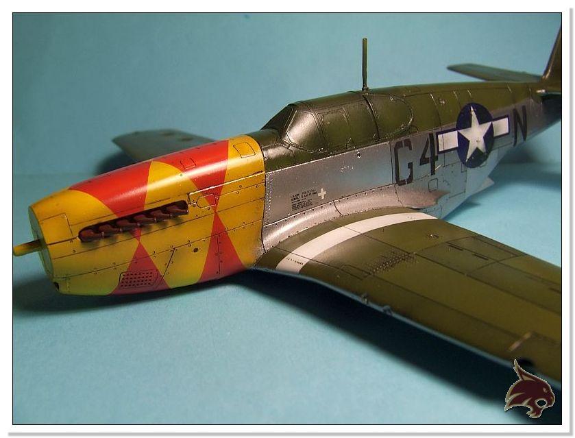 North American P-51 B - ICM 1/48 54