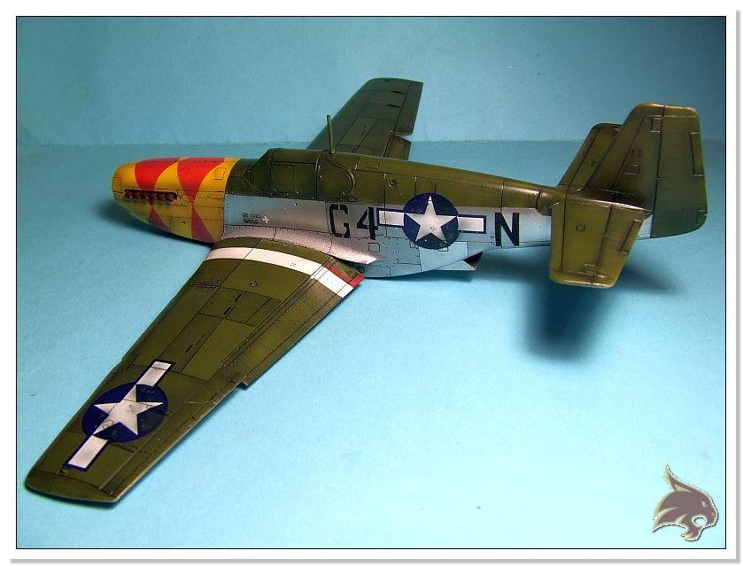 North American P-51 B - ICM 1/48 56