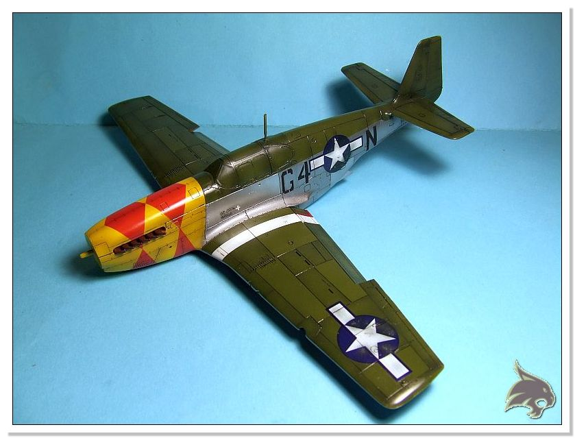 North American P-51 B - ICM 1/48 57