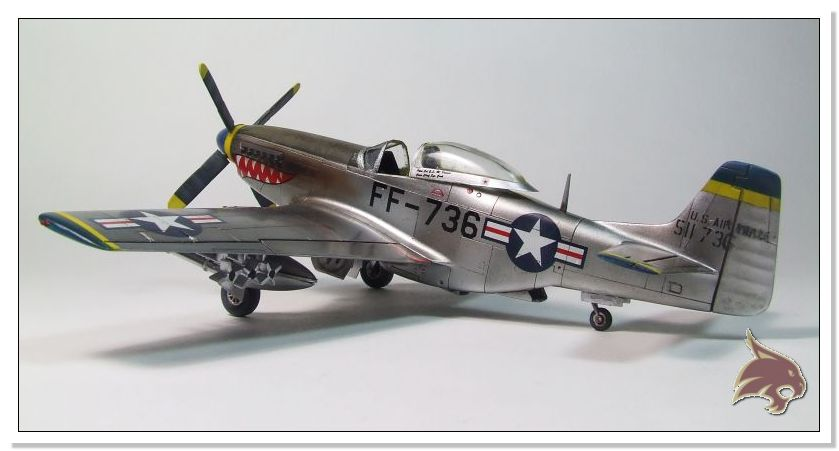 F-51 D Mustang Korean War - Italeri 1/72 01