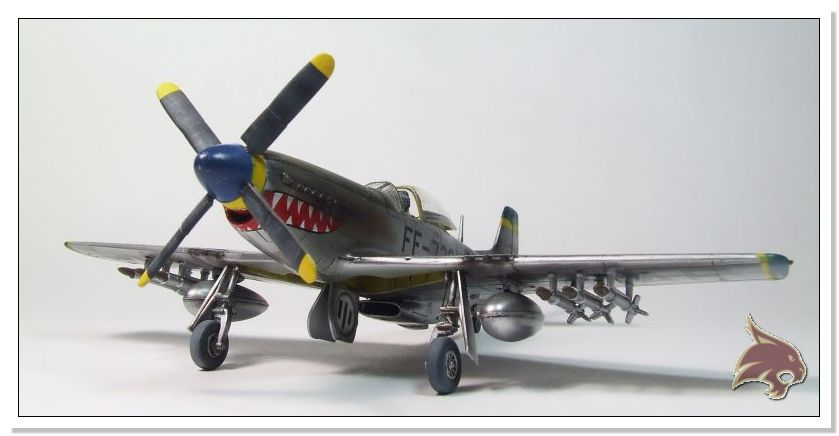 F-51 D Mustang Korean War - Italeri 1/72 02