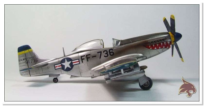 F-51 D Mustang Korean War - Italeri 1/72 03