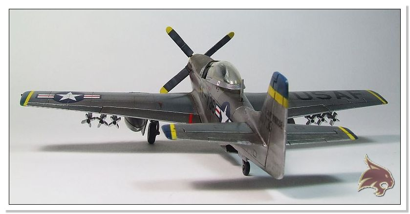 F-51 D Mustang Korean War - Italeri 1/72 04
