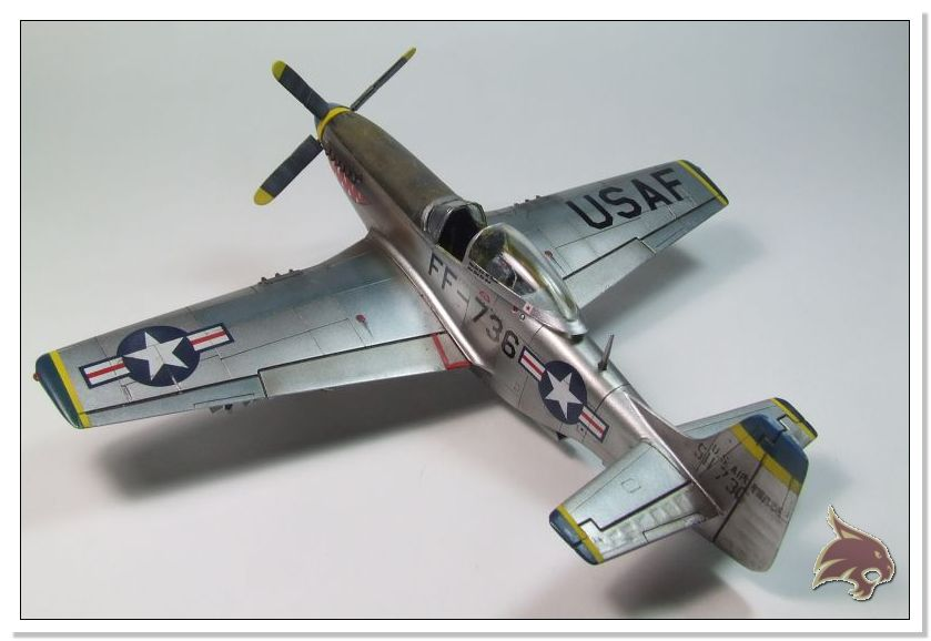 F-51 D Mustang Korean War - Italeri 1/72 05