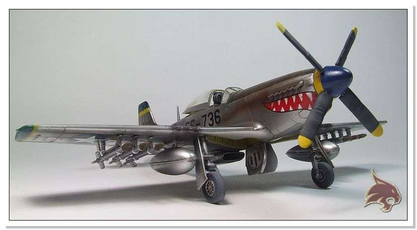 F-51 D Mustang Korean War - Italeri 1/72 07