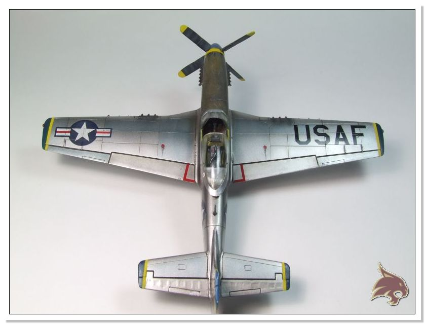 F-51 D Mustang Korean War - Italeri 1/72 08
