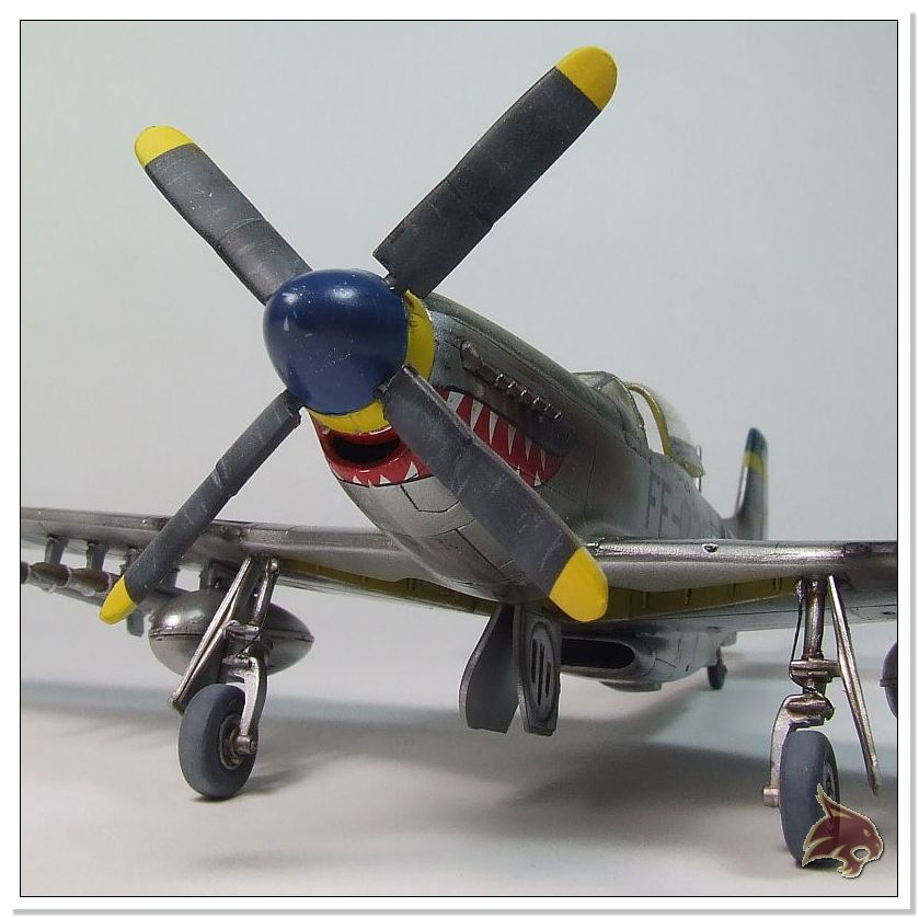 F-51 D Mustang Korean War - Italeri 1/72 09