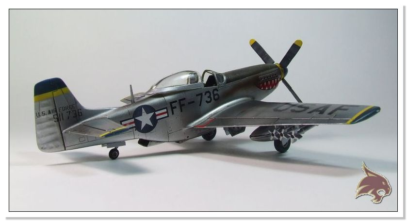 F-51 D Mustang Korean War - Italeri 1/72 11
