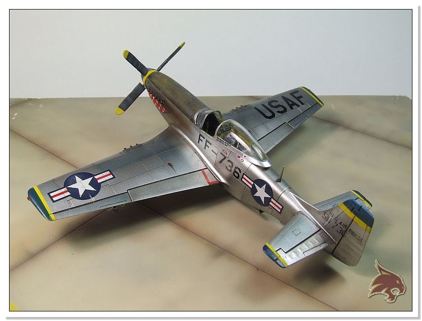F-51 D Mustang Korean War - Italeri 1/72 12