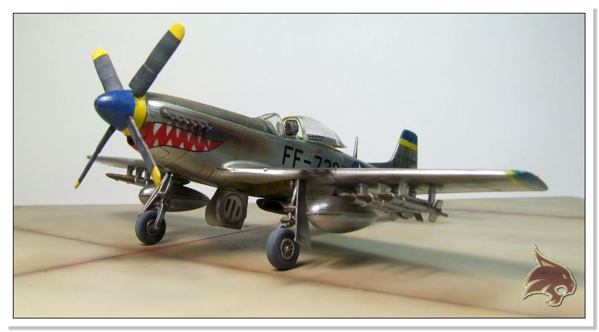 F-51 D Mustang Korean War - Italeri 1/72 13