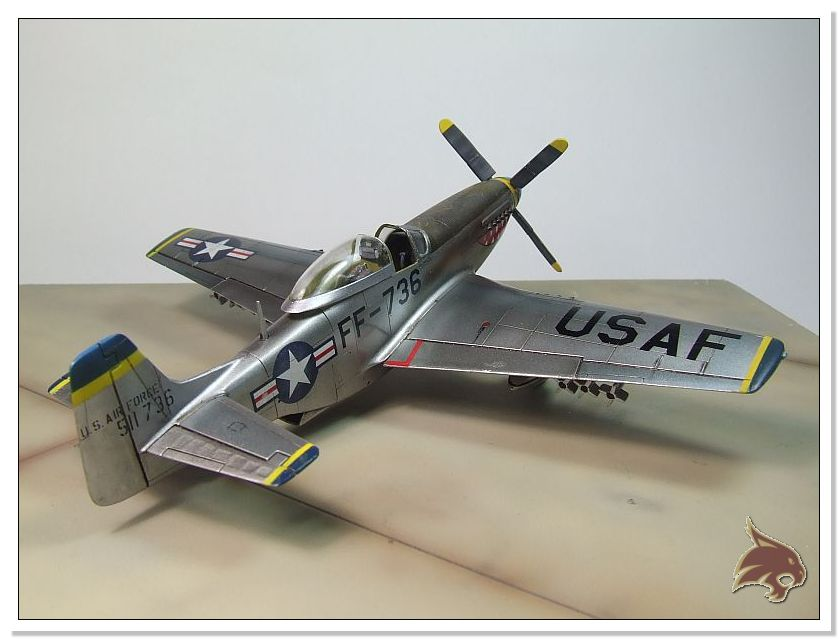 F-51 D Mustang Korean War - Italeri 1/72 14