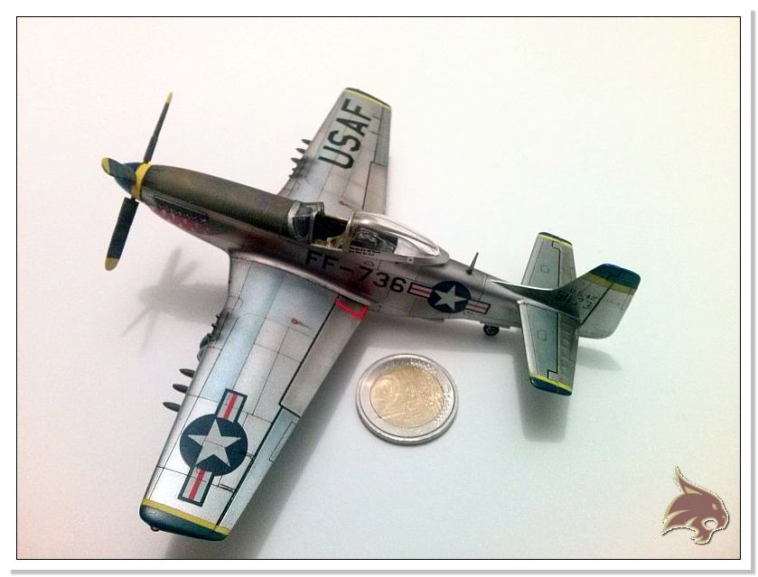 F-51 D Mustang Korean War - Italeri 1/72 15