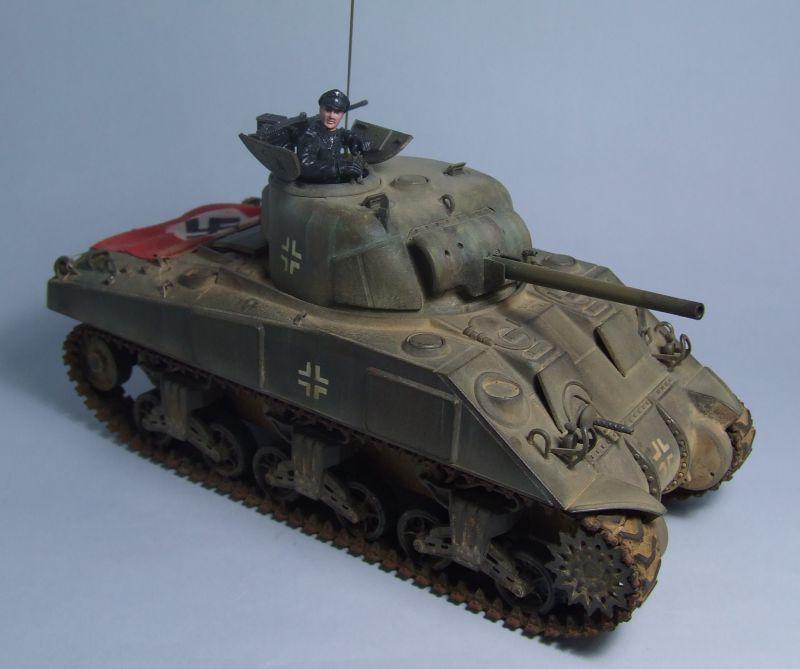 "SHERMAN M4 U.S.MEDIUM TANK ""EARLY PRODUCTION"" 1/35 TAMIYA 01"