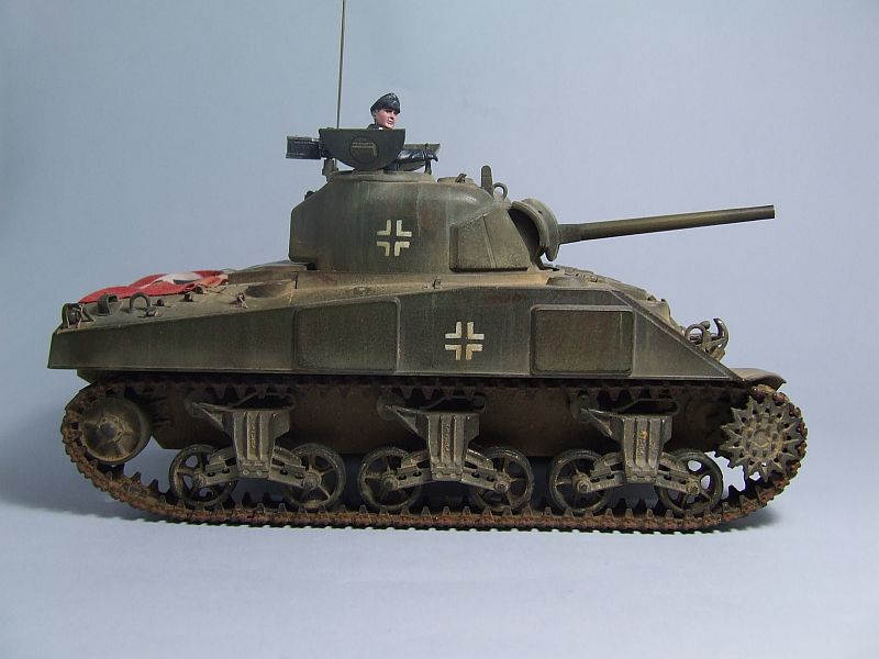 "SHERMAN M4 U.S.MEDIUM TANK ""EARLY PRODUCTION"" 1/35 TAMIYA 05"
