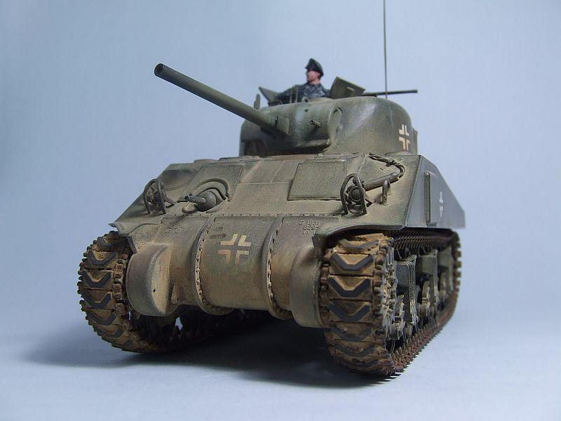 "SHERMAN M4 U.S.MEDIUM TANK ""EARLY PRODUCTION"" 1/35 TAMIYA 07"