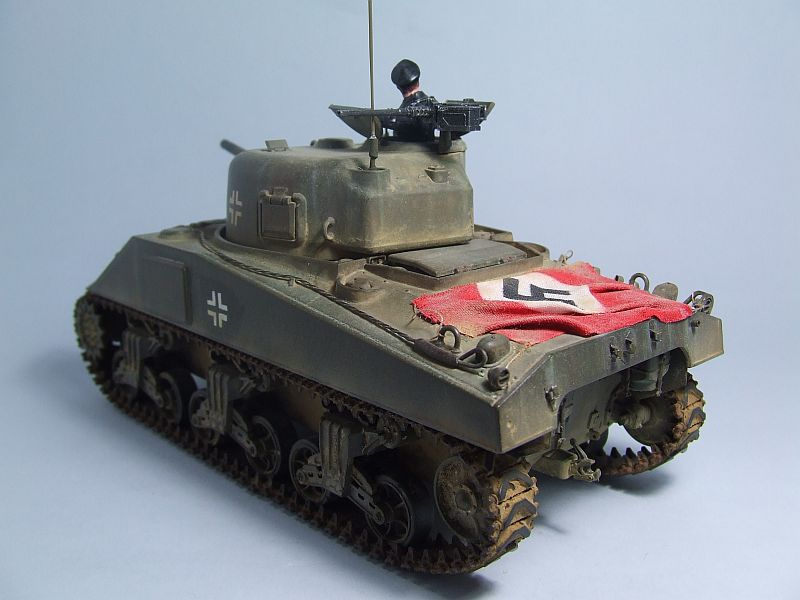 "SHERMAN M4 U.S.MEDIUM TANK ""EARLY PRODUCTION"" 1/35 TAMIYA 10"