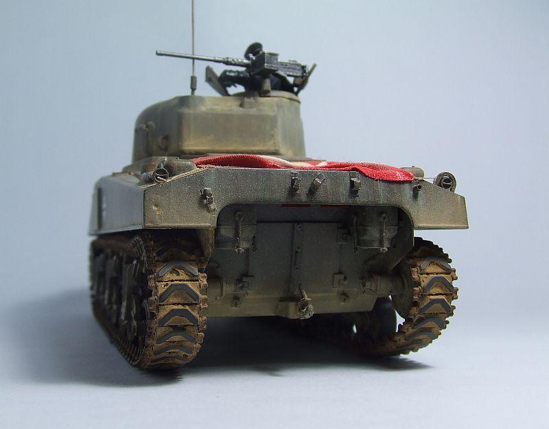 "SHERMAN M4 U.S.MEDIUM TANK ""EARLY PRODUCTION"" 1/35 TAMIYA 12"