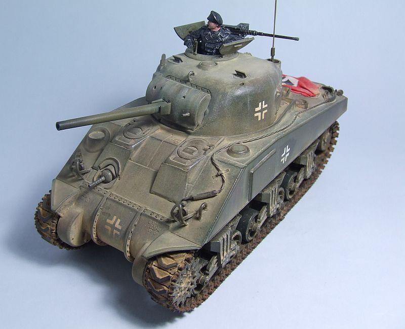 "SHERMAN M4 U.S.MEDIUM TANK ""EARLY PRODUCTION"" 1/35 TAMIYA 17"