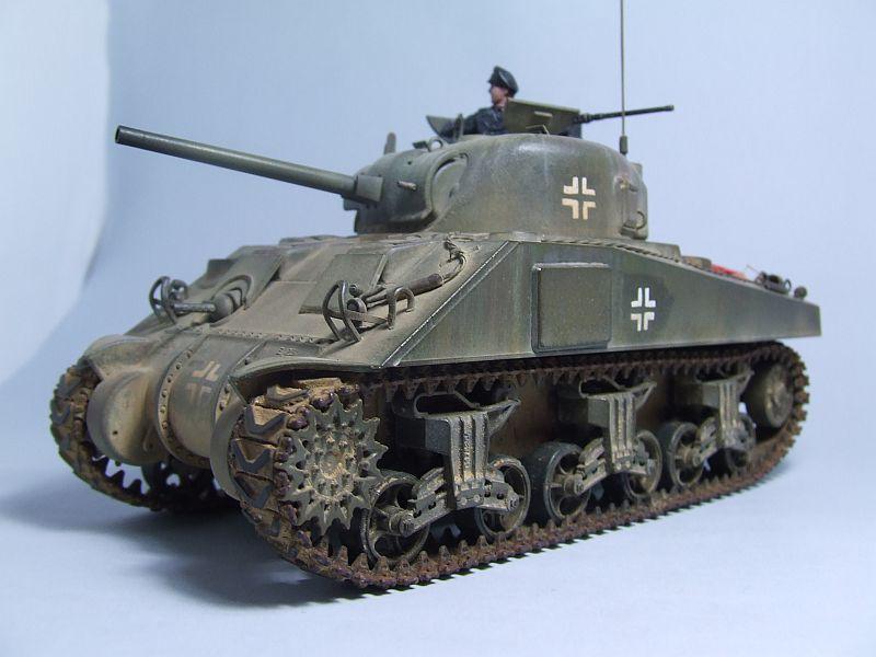"SHERMAN M4 U.S.MEDIUM TANK ""EARLY PRODUCTION"" 1/35 TAMIYA 18"