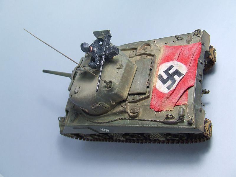 "SHERMAN M4 U.S.MEDIUM TANK ""EARLY PRODUCTION"" 1/35 TAMIYA 20"