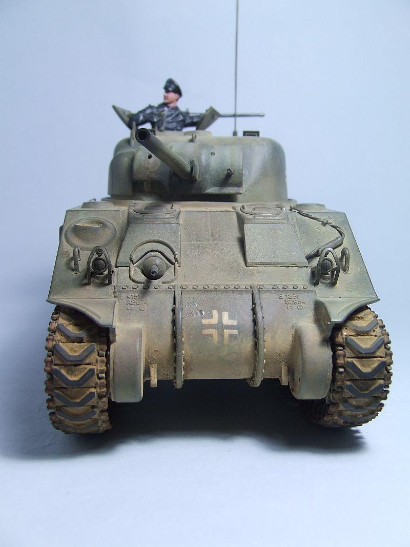"SHERMAN M4 U.S.MEDIUM TANK ""EARLY PRODUCTION"" 1/35 TAMIYA 23"