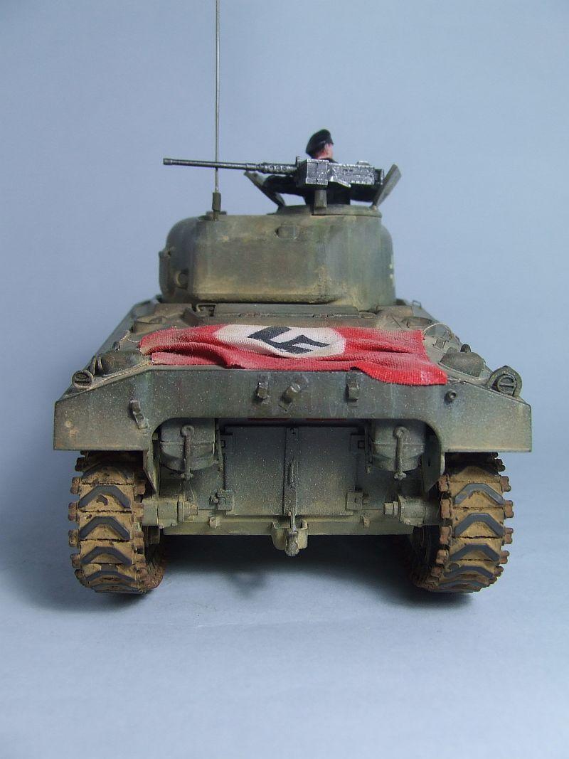 "SHERMAN M4 U.S.MEDIUM TANK ""EARLY PRODUCTION"" 1/35 TAMIYA 24"