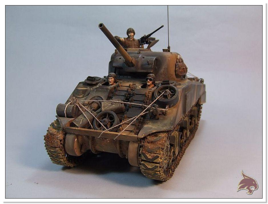 "Monte Casino 1944 - Sherman 1/35 Tamiya ""Restaurado"" Finales01"