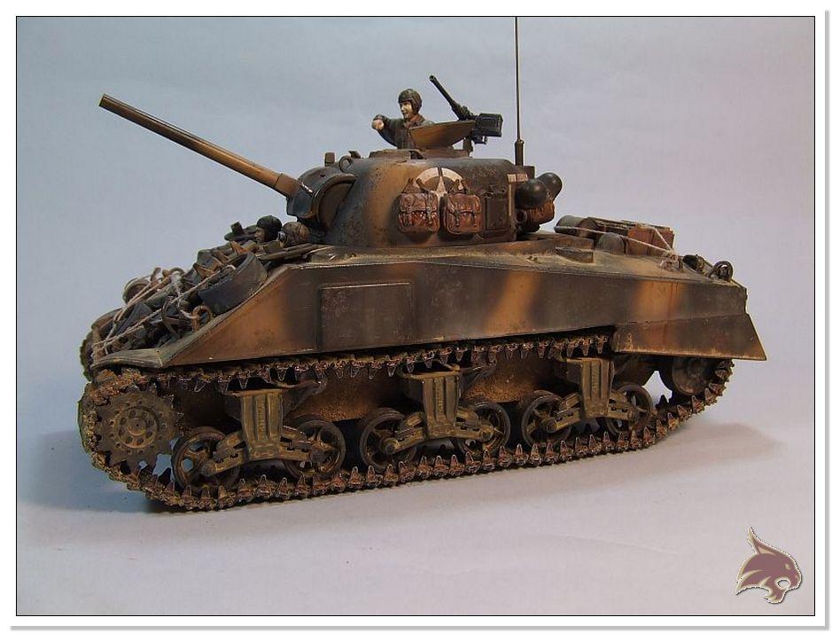 "Monte Casino 1944 - Sherman 1/35 Tamiya ""Restaurado"" Finales02"