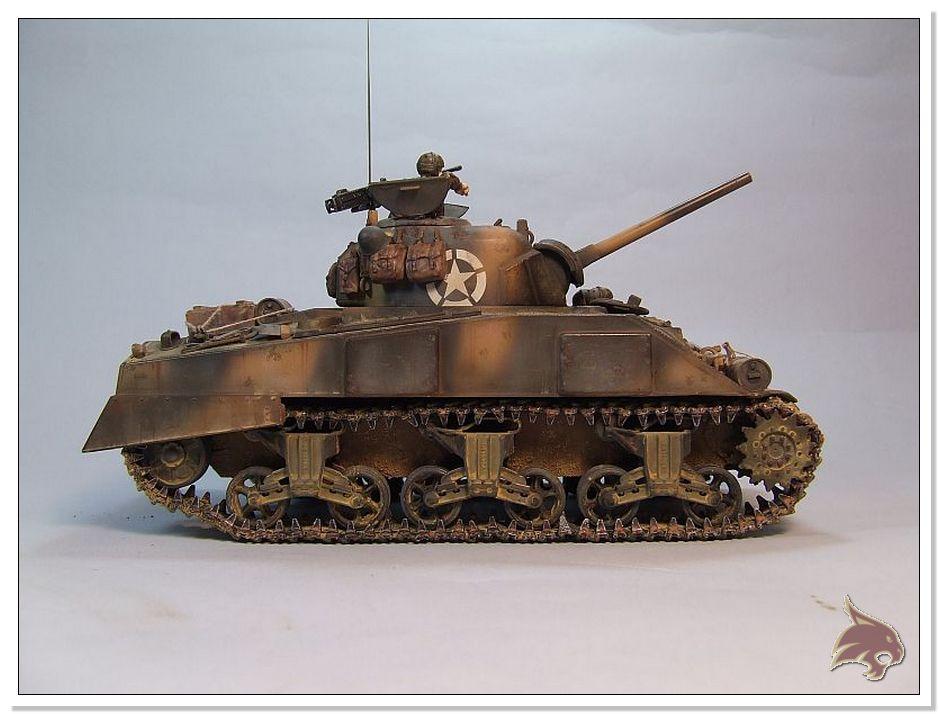 "Monte Casino 1944 - Sherman 1/35 Tamiya ""Restaurado"" Finales04"