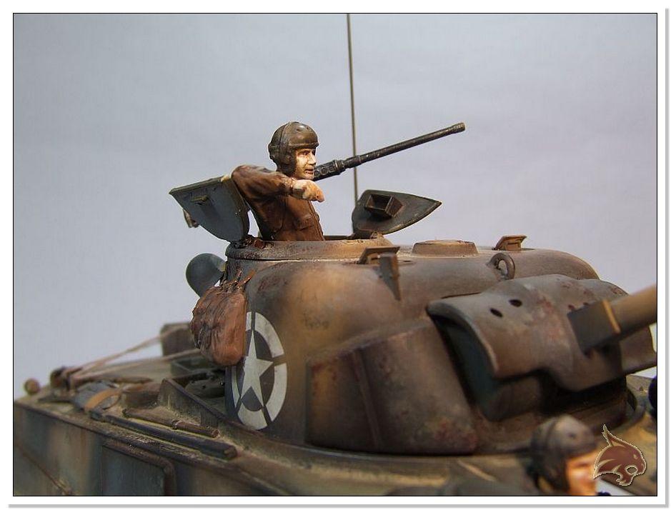 "Monte Casino 1944 - Sherman 1/35 Tamiya ""Restaurado"" Finales07"
