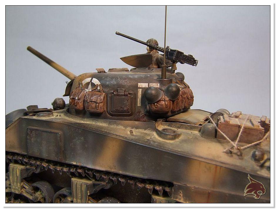 "Monte Casino 1944 - Sherman 1/35 Tamiya ""Restaurado"" Finales08"