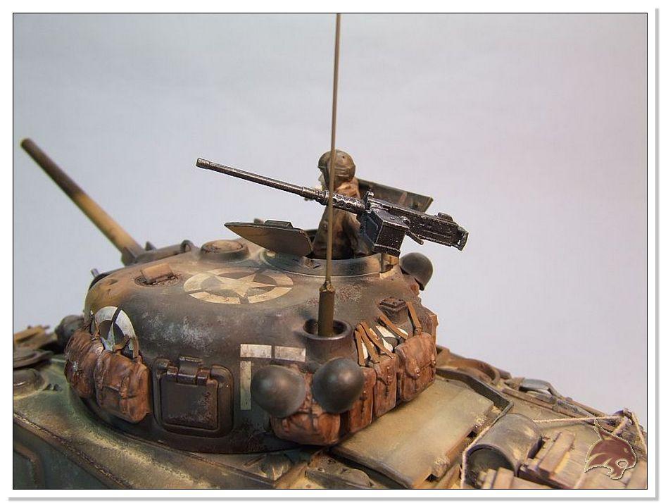 "Monte Casino 1944 - Sherman 1/35 Tamiya ""Restaurado"" Finales10"