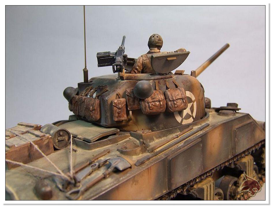 "Monte Casino 1944 - Sherman 1/35 Tamiya ""Restaurado"" Finales11"