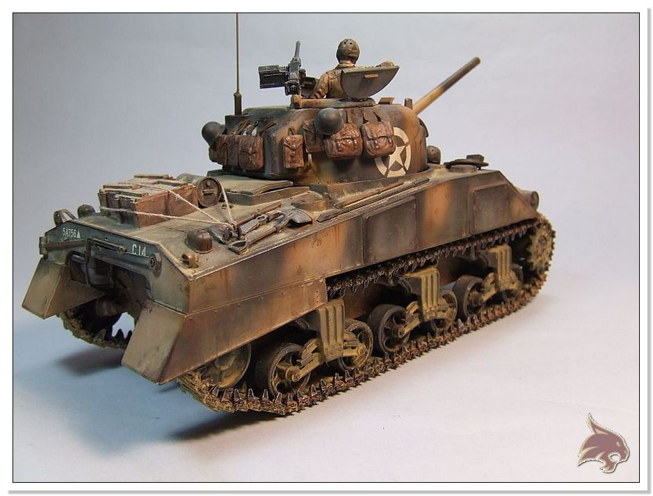 "Monte Casino 1944 - Sherman 1/35 Tamiya ""Restaurado"" Finales12"