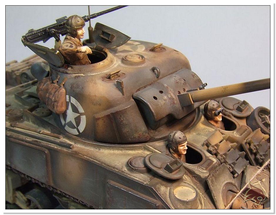 "Monte Casino 1944 - Sherman 1/35 Tamiya ""Restaurado"" Finales13"