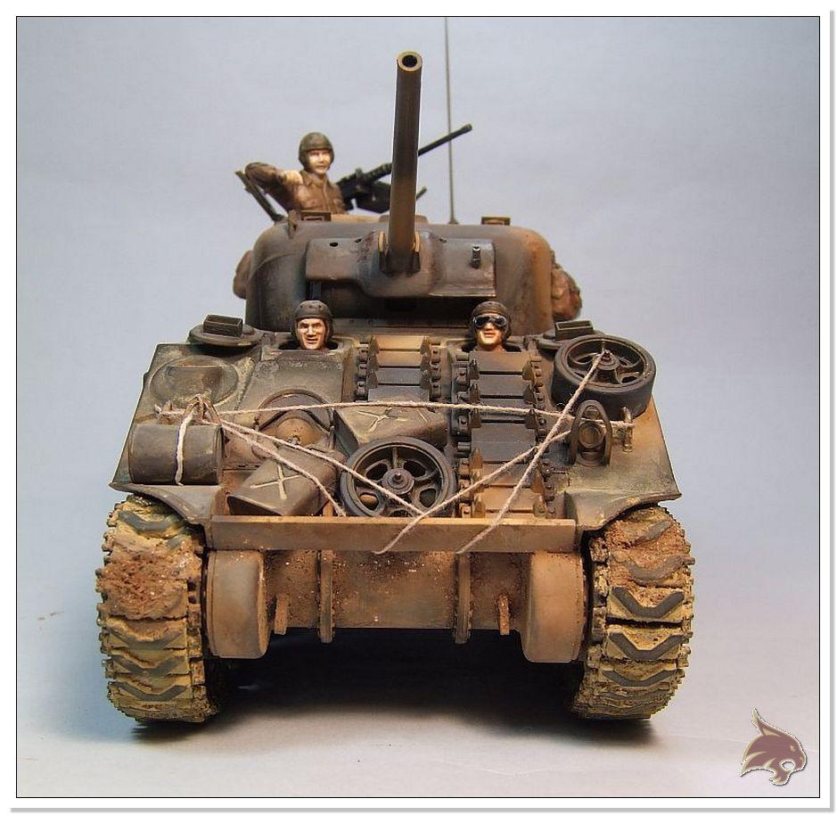 "Monte Casino 1944 - Sherman 1/35 Tamiya ""Restaurado"" Finales16jpg"