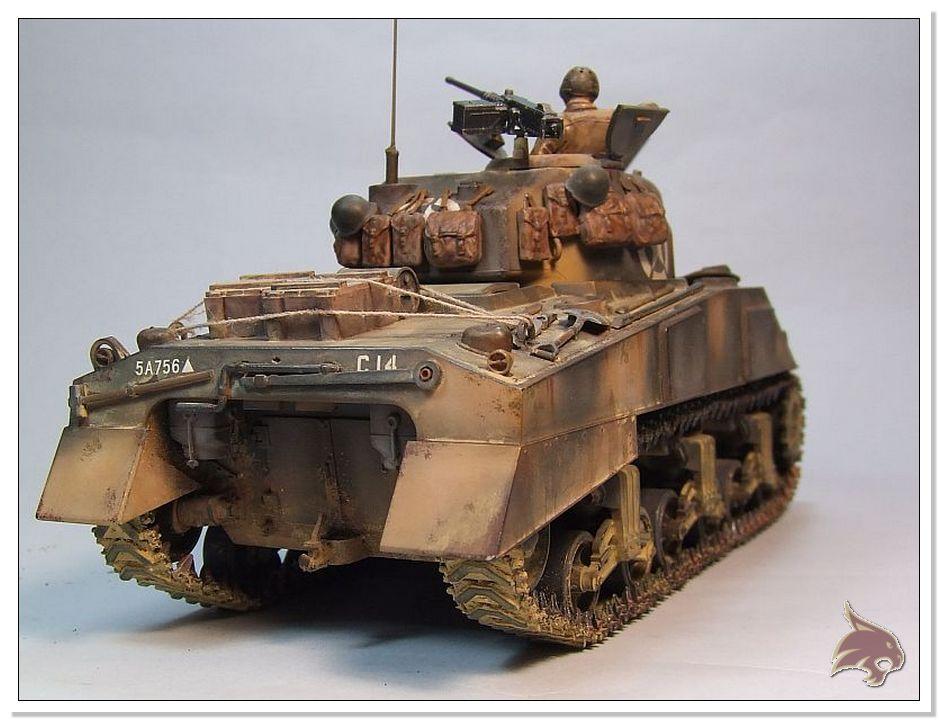 "Monte Casino 1944 - Sherman 1/35 Tamiya ""Restaurado"" Finales17"